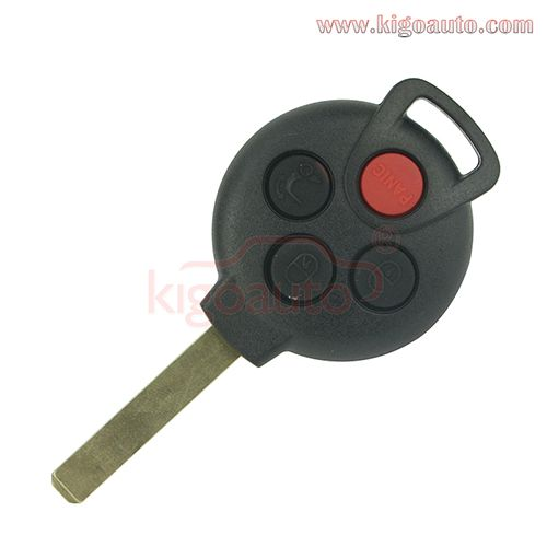 KR55WK45144 Remote key 4 button 315Mhz for Mercedes Smart