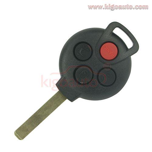 KR55WK45144 Remote key 4 button 315Mhz for Mercedes Smart