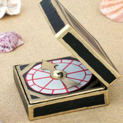 The Captain's Compass | Disney Pirate Crafts & Recipes | Disney | Disney Family.com