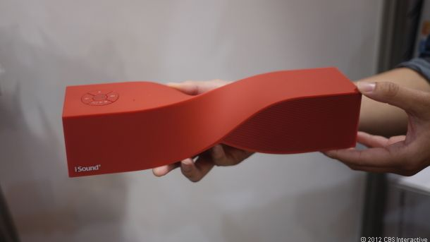 Bluetooth speakers. Really love the out-of-the-box design.