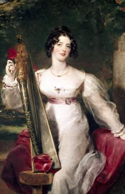 Elizabeth Conyngham was the mistress of George IV. The daugher of a self-made banker, she was never fully accepted into polite society, but remained close to the King until his death in 1830. A well-known beauty, she may also have been the lover of Tsar Nicholas I.