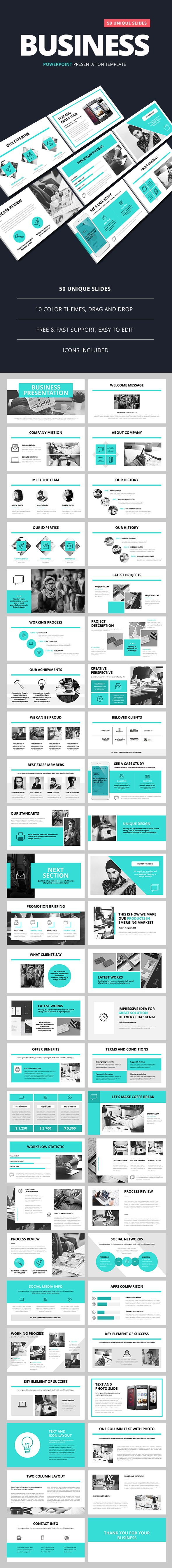 Business Presentation - Business PowerPoint Templates