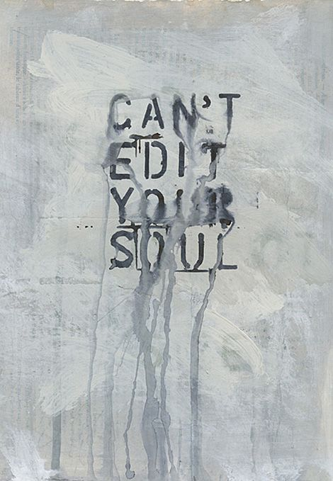Can't edit your soul / on TTL Design