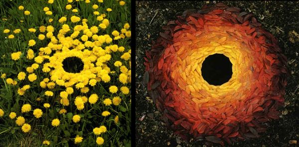 Earthworks by Andy Goldsworthy