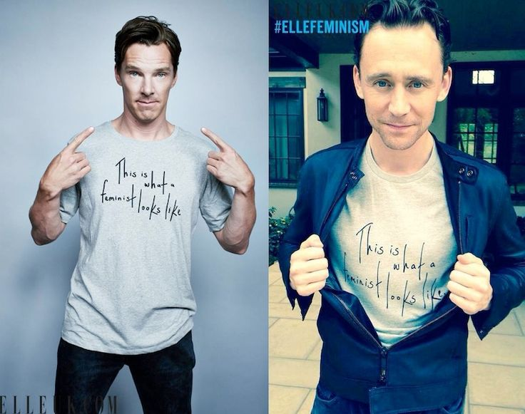 Tom Hiddleston & Benedict Cumberbatch Are Proud Feminists & These 10 Quotes Prove That<-- I thank God for these men.