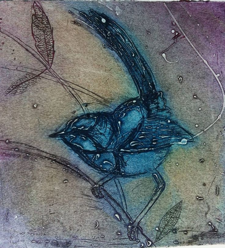 Collagraph, Printmaking #printmaking #etching