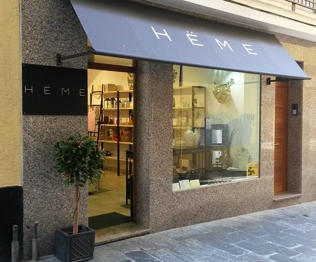 Heme - Fachada tienda en Coruña