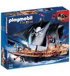 PLAYMOBIL 6678 piratskepp