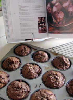 1. Nigella's Chocolate Banana Muffins