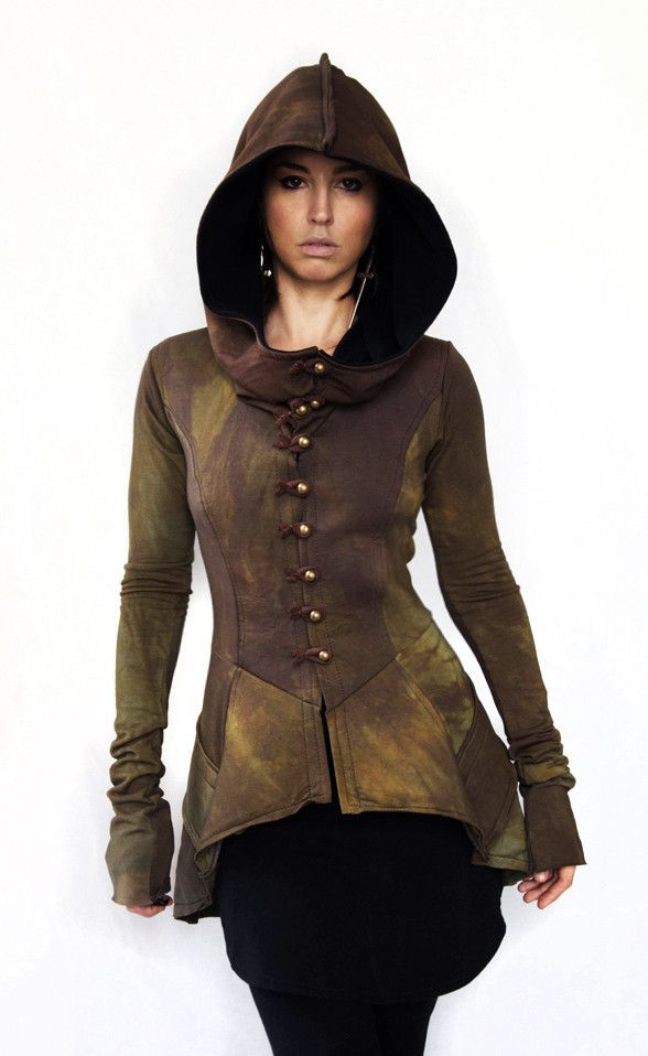 Special edition hooded Frock coat