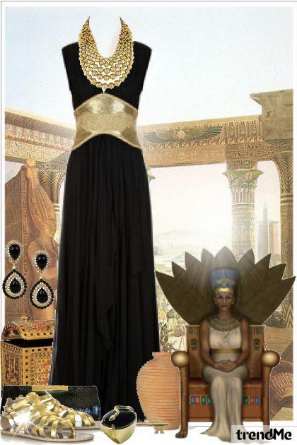 Nefertiti. Famous for her beauty