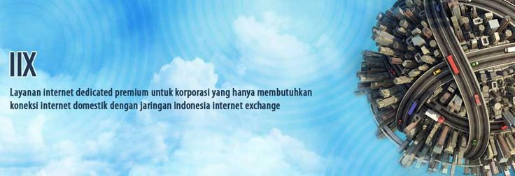 IIX is a dedicated premium internet service for companies that only need domestic internet connection. By using wireless through D-NET Network and Infrastructure, customer will always be connected with Indonesia Internet Exchange network in Jakarta, available 24 hours a day.