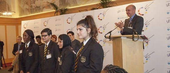 YBI Gets Into Global Entrepreneurship Week: Students from Southfields Academy played a big role in the launch of GEW, posing questions to a panel of entrepreneurs