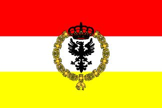 europa-nacional: Bandera galeones españoles de combate