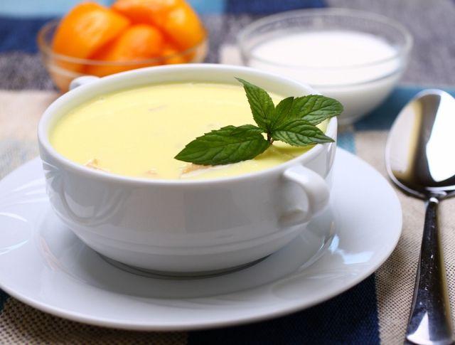 Egy finom Hideg őszibarack-krémleves  ebédre vagy vacsorára? Hideg őszibarack-krémleves  Receptek a Mindmegette.hu Recept gyűjteményében!