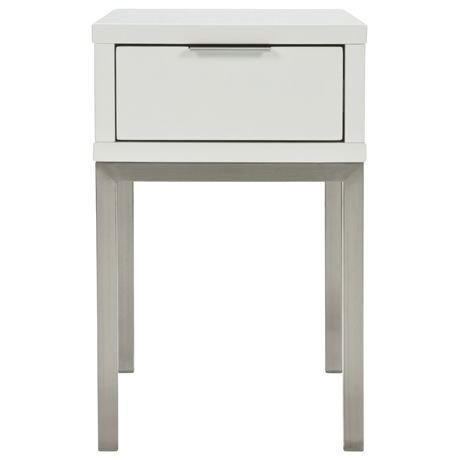 Signature S Bedside Table 1 Drawer Narrow   Freedom Furniture and Homewares