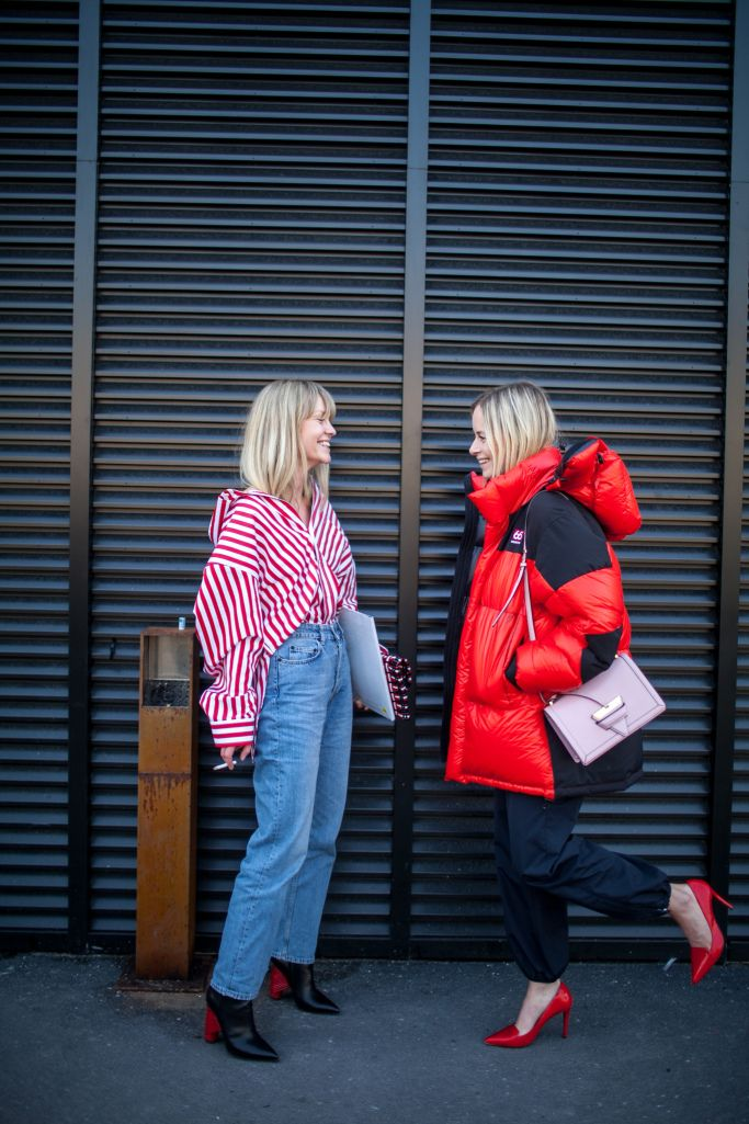 Street style at Milan Fashion Week Fall 2017