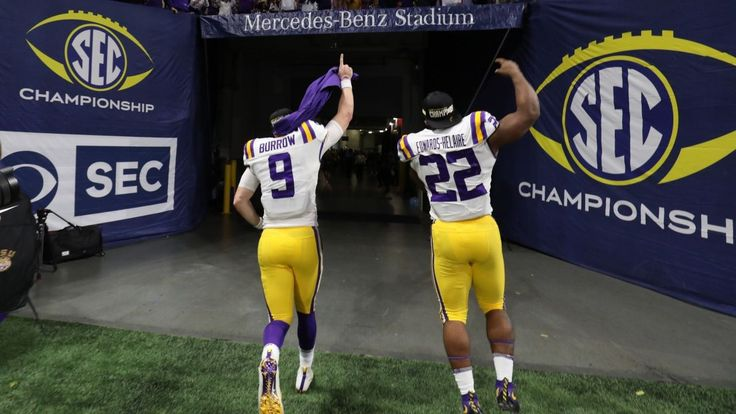 Lsu jumps to no 1 in cfp to face no 4 oklahoma lsu