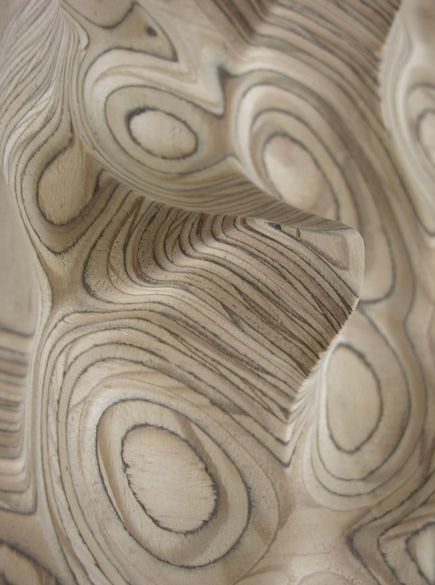 machined plywood abstract < see, THIS is how the manufactured material moves from elegantly simple to simply beautiful. So topographical.