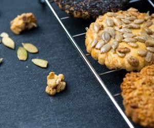 Slané špaldové sušenky