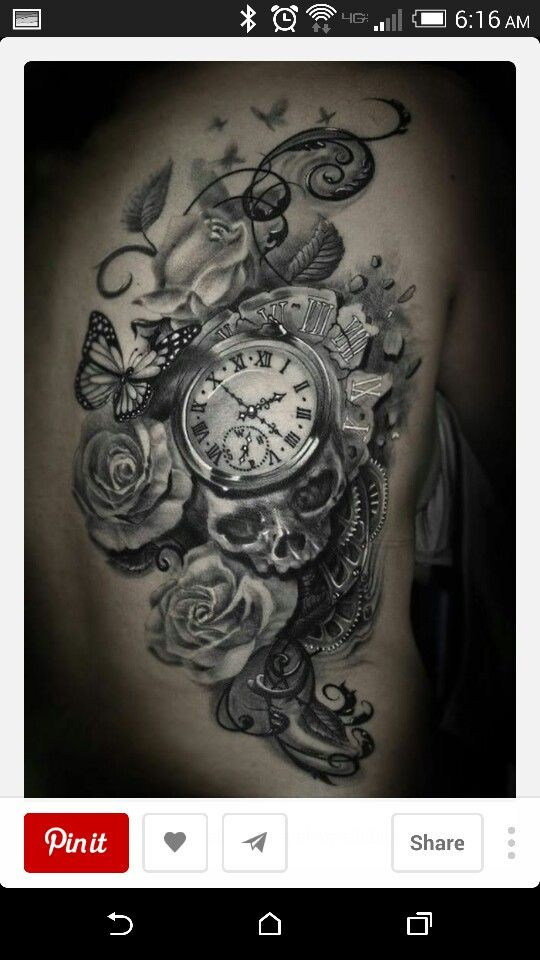 Clock, symbolizing time, life is short and we should live it to the fullest