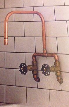 copper industrial shower - Google-Suche