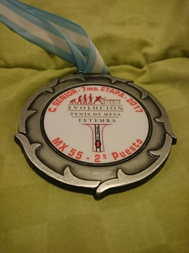 Medalla de subcampeón