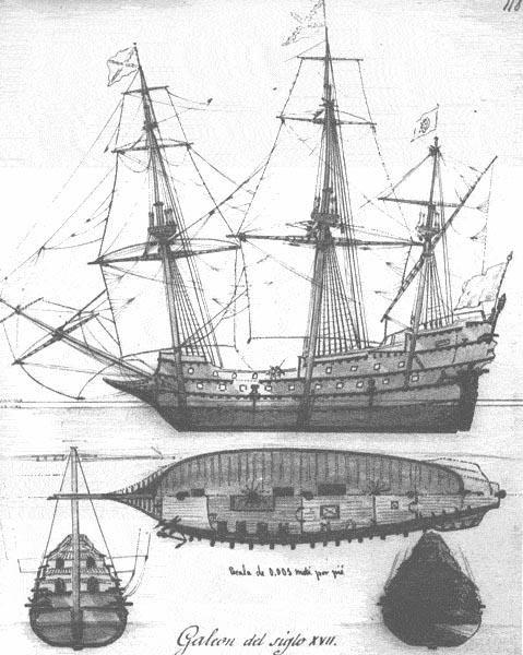 Planos de una nave.                                                                                                                                                     Más
