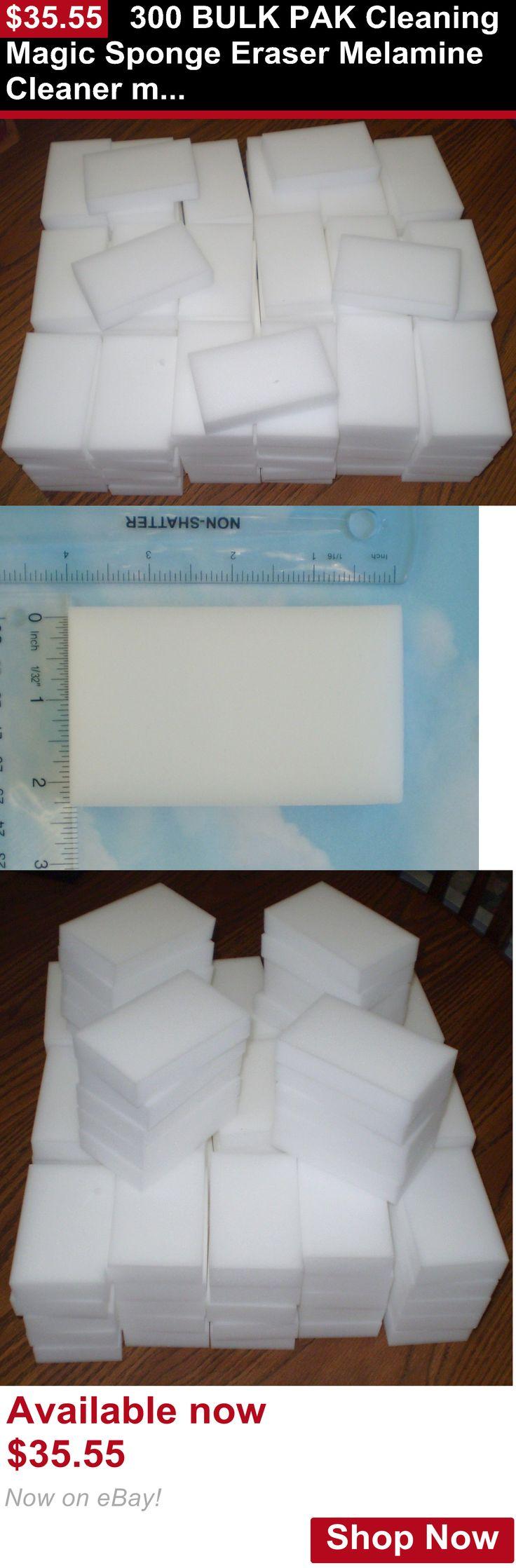 Telescope Eyepieces And Lenses: 300 Bulk Pak Cleaning Magic Sponge Eraser Melamine Cleaner Multi-Functional Foam BUY IT NOW ONLY: $35.55