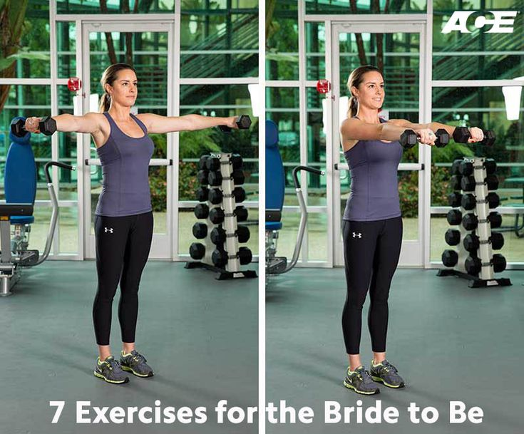 Getting ready for your big day? This circuit workout requires minimal equipment and is just 7 moves to get you ready to say yes to the dress.