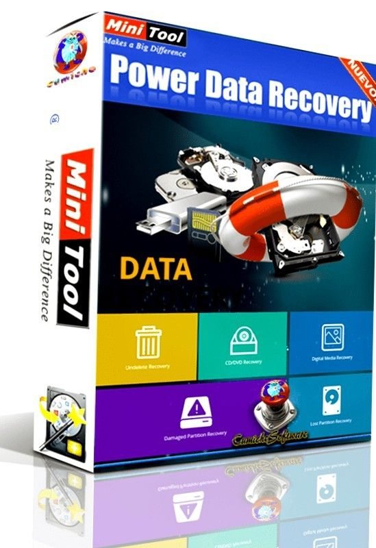MiniTool Power Data Recovery 7 5 Business Standard Deluxe Enterprise Technician