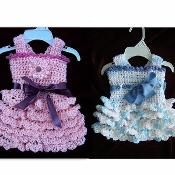 583 CROCHET DRESS, FLAPPER STYLE - via @Craftsy
