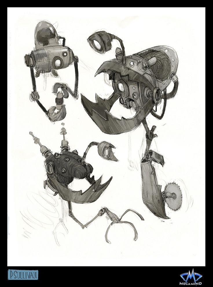 Living Lines Library: Megamind (2010) - Concept Art, Props