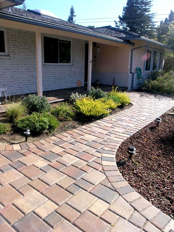 25 best images about paving stone perfection on pinterest for Home walkway ideas