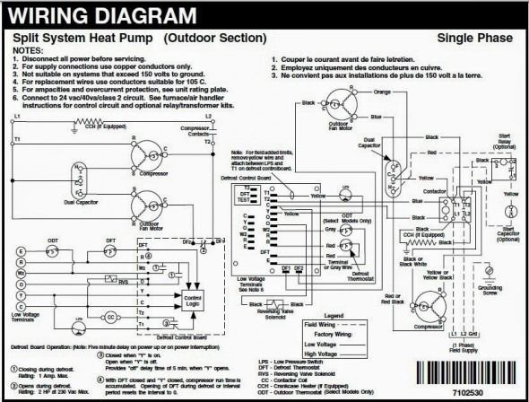 Hvac Wire Diagram With Images Hvac Air Conditioning Carrier