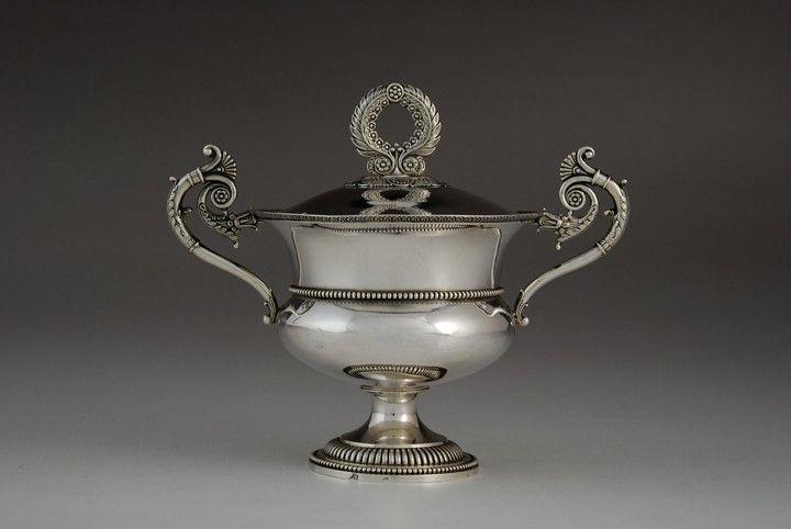 Empire style sugar bowl, Paris