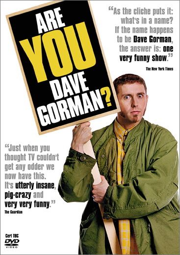 Are you Dave Gorman? A World Odyssey to meet 54 Dave Gormans
