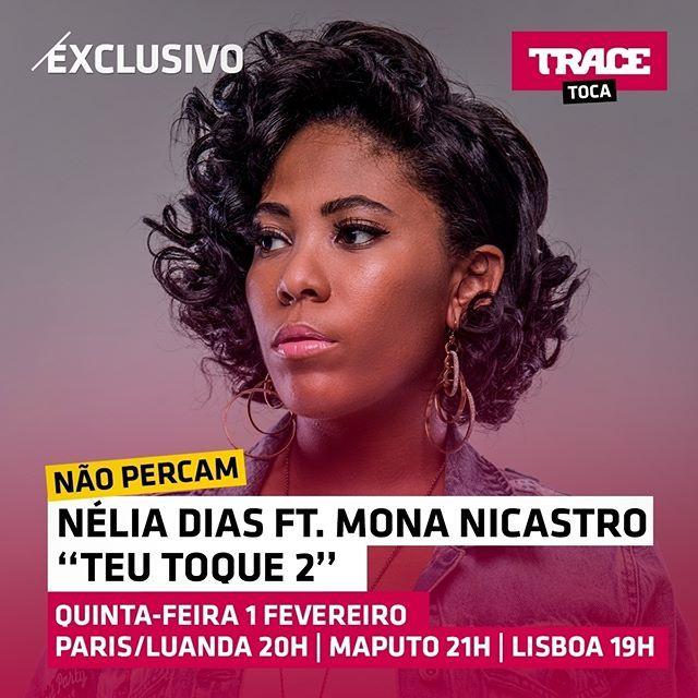 Não percam quinta-feira a estreia do novo video de Nélia Dias feat Mona Nicastro no TRACE Toca em exclusivo ! As 20h de Luanda/Paris, as 21h de Maputo e as 19h de Lisboa ! TRACE Toca A Paixão Da Musica! @neliadiascantora @mona_nicastro -- #tracetoca #apaixaodamusica #neliadias #monanicastro #angola #teutoque2 #new #exclusivo