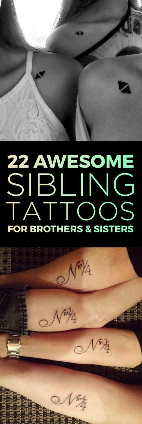 die besten 25 bruder schwester tattoos ideen auf. Black Bedroom Furniture Sets. Home Design Ideas