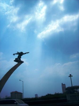 Dirgantara Statue - Jakarta Indonesia