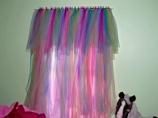 tutu curtain with tutu valance