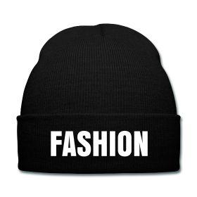 Fashion Beanie - Available Here: http://sondersky.spreadshirt.com.au/fashion-A18464150
