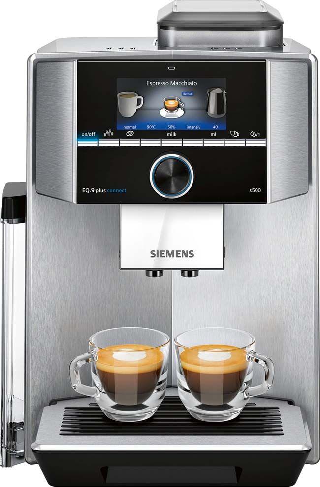 Jouw Favoriete Koffie Perfect Bereid Espressomachine Gemalen Koffie Koffie
