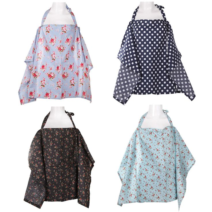 4 Color Cotton Breastfeeding Cover Nursing Covers Shawl Breast Feeding Covers Flower Printed Nursing Covers for Feeding Baby