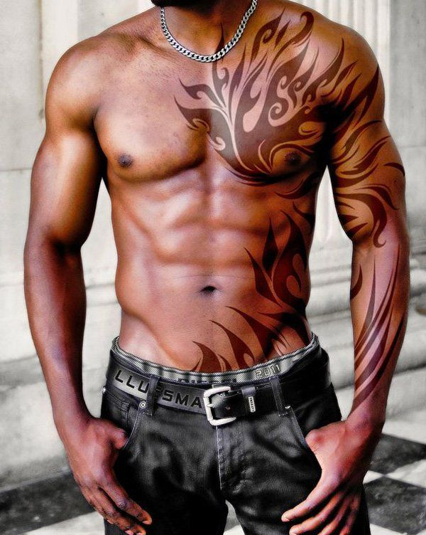 Tribal tattoo for man - 70+ Awesome Tribal Tattoo Designs | Art and Design
