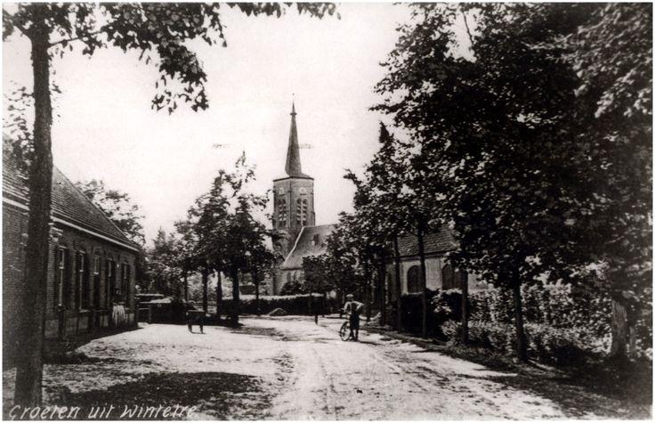 Wintelre, Willibrordusstraat - RK - St. Willibrorduskerk, Willibrordusstraat Auteur: niet vermeld - 1920 - 1930