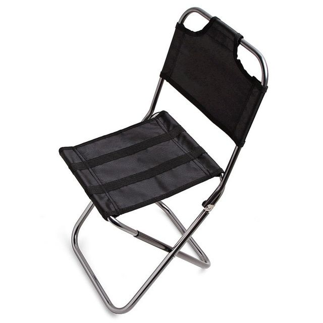 Ultralight Fishing Chair Portable Foldable Seat Pop Up Camping Hiking Stool Outdoor Furniture Garden Light Caming Beach Chairs Review Folding Chair Fishing Chair Beach Chairs