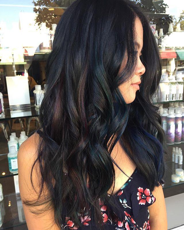 Oil Slick Hair                                                                                                                                                      More