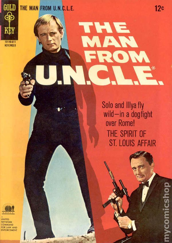 Man from UNCLE (1965 Gold Key) comic books #9