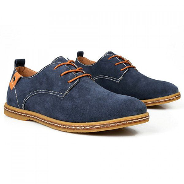 Business Suede and Lace-Up Design Formal Shoes For Men found on dresslily.com